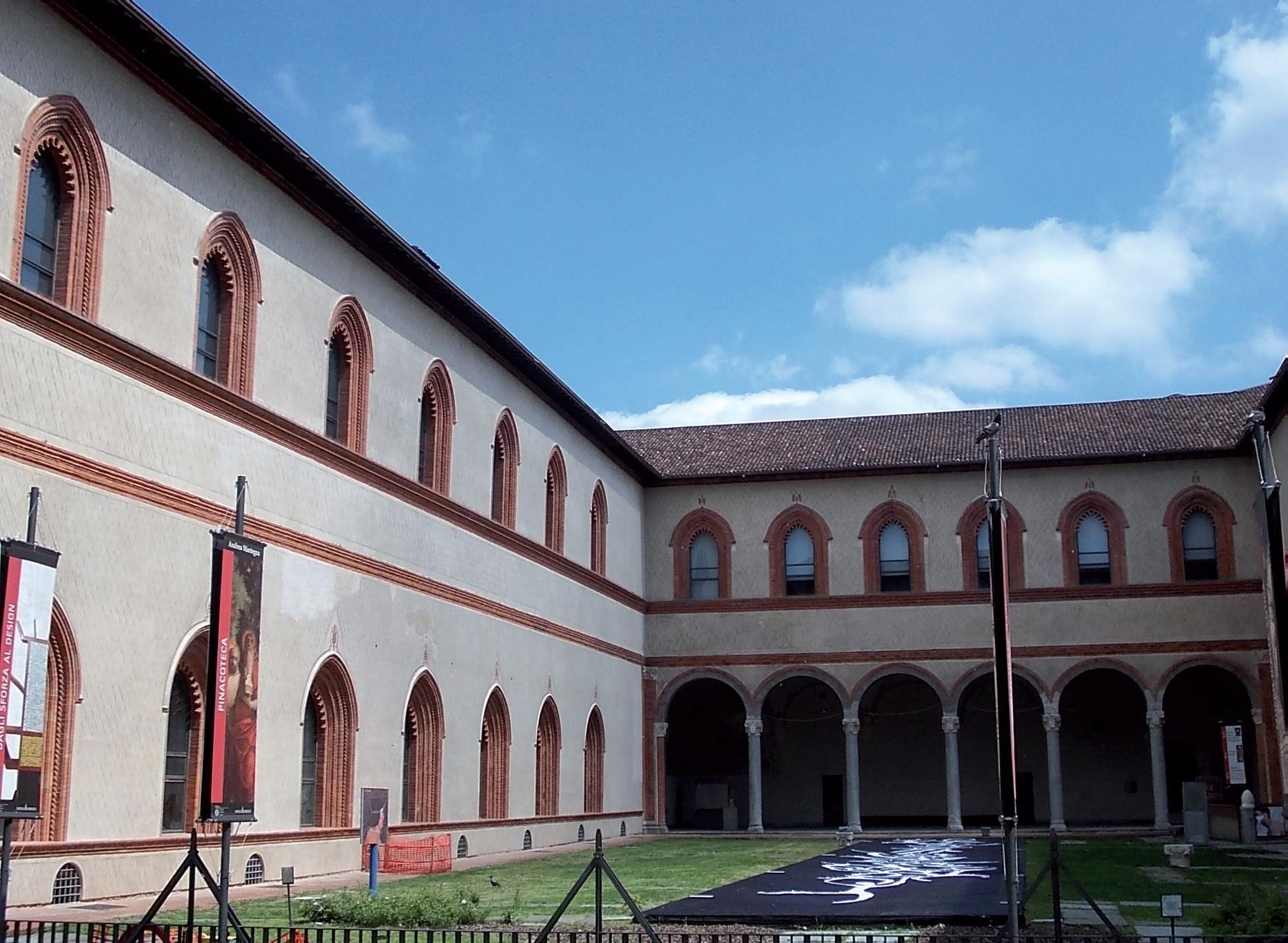 Castello Sforzesco, Milano - Italiana Costruzioni